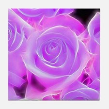 Rose 2014-0929 Tile Coaster
