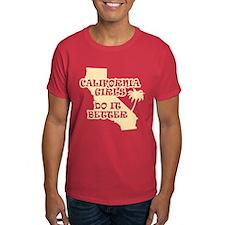 California Girls Do It Better T-Shirt
