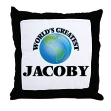 World's Greatest Jacoby Throw Pillow
