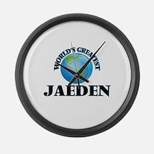World's Greatest Jaeden Large Wall Clock