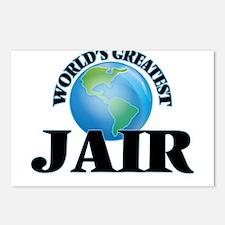 World's Greatest Jair Postcards (Package of 8)