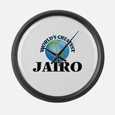 World's Greatest Jairo Large Wall Clock