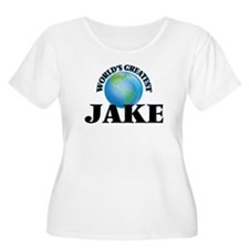 World's Greatest Jake Plus Size T-Shirt