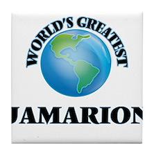 World's Greatest Jamarion Tile Coaster