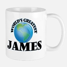 World's Greatest James Mugs