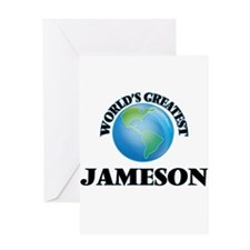 World's Greatest Jameson Greeting Cards
