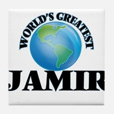 World's Greatest Jamir Tile Coaster