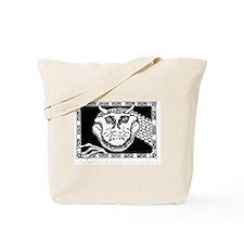 Grinning Dragon Tote Bag