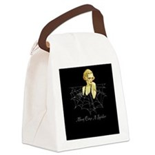 Along Came a Spider Canvas Lunch Bag