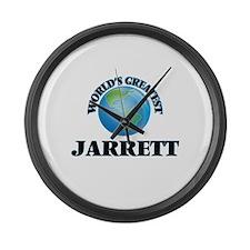 World's Greatest Jarrett Large Wall Clock