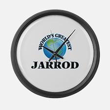 World's Greatest Jarrod Large Wall Clock