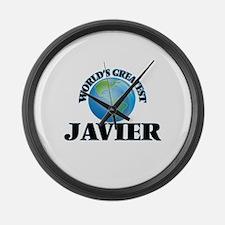 World's Greatest Javier Large Wall Clock
