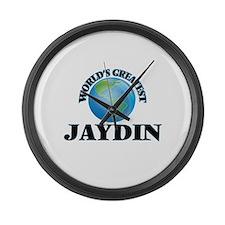 World's Greatest Jaydin Large Wall Clock