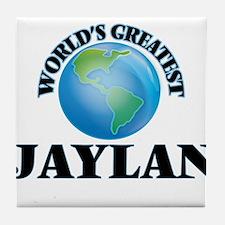 World's Greatest Jaylan Tile Coaster