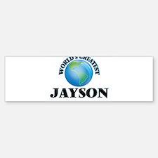 World's Greatest Jayson Bumper Bumper Bumper Sticker