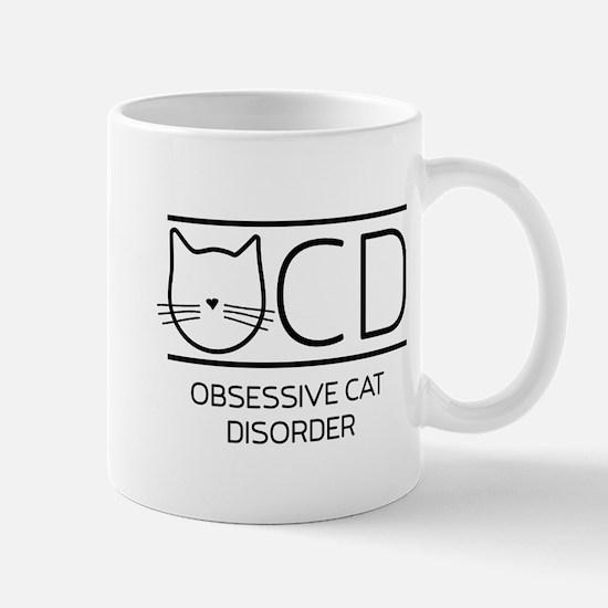 OCD obsessive cat disorder Mugs