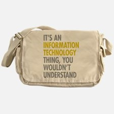 Its An Information Technology Thing Messenger Bag