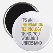 "Its An Information Technol 2.25"" Magnet (100 pack)"