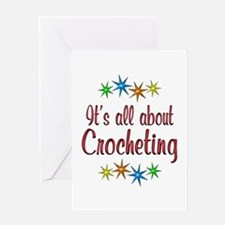 About Crocheting Greeting Card