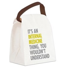 Internal Medicine Thing Canvas Lunch Bag