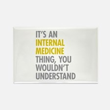 Internal Medicine Thin Rectangle Magnet (100 pack)