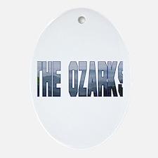 The Ozarks Oval Ornament