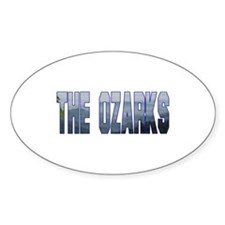 The Ozarks Oval Decal