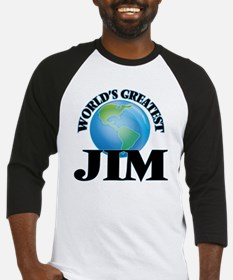 World's Greatest Jim Baseball Jersey