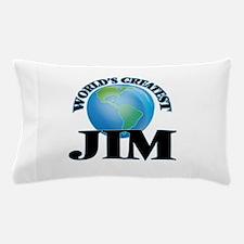 World's Greatest Jim Pillow Case