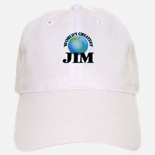 World's Greatest Jim Baseball Baseball Cap
