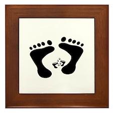 Unique Feet fetish Framed Tile