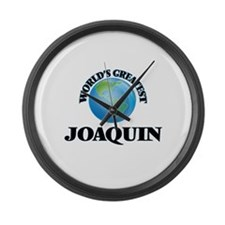 World's Greatest Joaquin Large Wall Clock