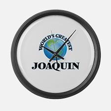 World's Greatest Joaquin Large Wall Clock