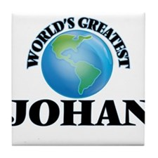 World's Greatest Johan Tile Coaster