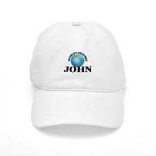 World's Greatest John Baseball Cap