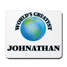 World's Greatest Johnathan Mousepad