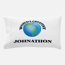 World's Greatest Johnathon Pillow Case