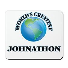 World's Greatest Johnathon Mousepad