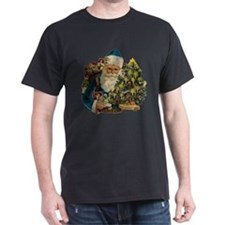 SANTA WITH CHRISTMAS TREE T-Shirt