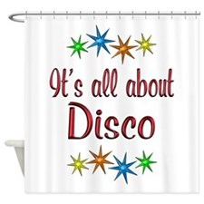 About Disco Shower Curtain