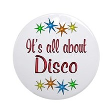 About Disco Ornament (Round)