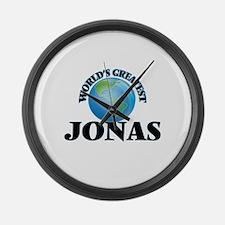 World's Greatest Jonas Large Wall Clock