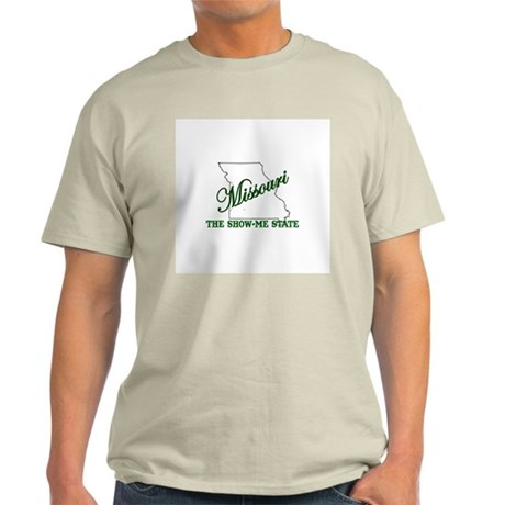 Missouri . . . The Show-Me St Light T-Shirt