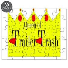 Queen Of Trailer Trash Puzzle
