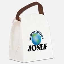 World's Greatest Josef Canvas Lunch Bag