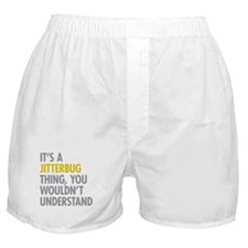 Its A Jitterbug Thing Boxer Shorts