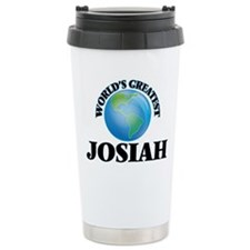 World's Greatest Josiah Travel Mug