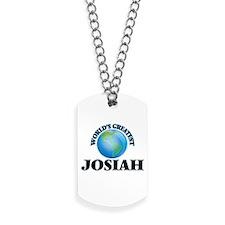 World's Greatest Josiah Dog Tags