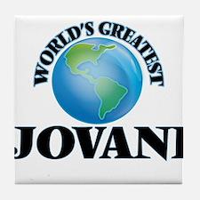 World's Greatest Jovani Tile Coaster