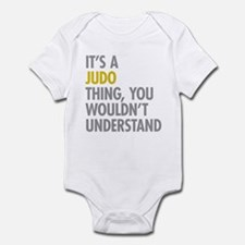 Its A Judo Thing Infant Bodysuit